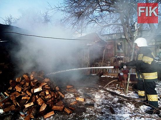 16 грудня о 13:05 до Служби порятунку «101» надійшло повідомлення пожежу господарчої споруди у м. Знам'янка.