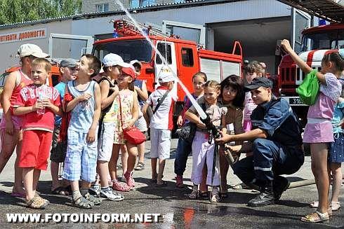 На екскурсію до пожежної частини (ФОТО)