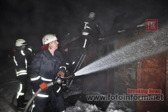 За добу, що минула, пожежно-рятувальні підрозділи Кіровоградської області двічі гасили пожежі в житловому секторі.
