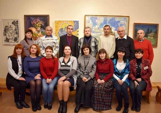 У Кропивницькому, музейних співробітників