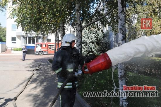 Серед рятувальних підрозділів Кіровоградщини проходить огляд-конкурс (ФОТО)