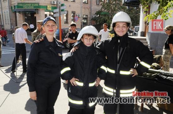 У Кропивницькому рятувальники провели інформаційну роботу серед юних мешканців міста (ФОТО)