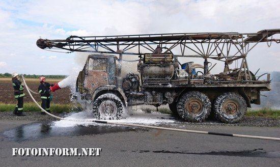 Протягом 7 вересня пожежно-рятувальні підрозділи Кіровоградської області двічі залучатись до гасіння пожеж автомобілів.