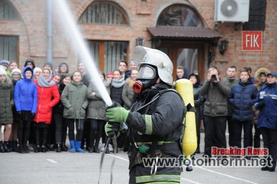 У Кропивницькому, учні школи мистецтв, взяли участь у акції