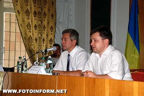 Перший заступник голови ДПС у Кіровоградській області Сергій Колотуха зустрівся з представниками бізнесу Світловодщини (ФОТО)