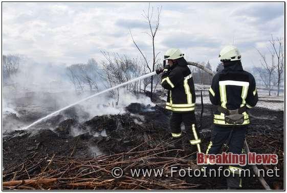 За добу на Кіровоградщині виникло 6 займань