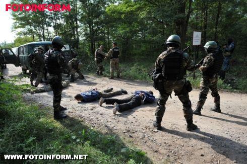 СБУ: на Кіровоградщині відбулись тактико-спеціальні навчання (фото)