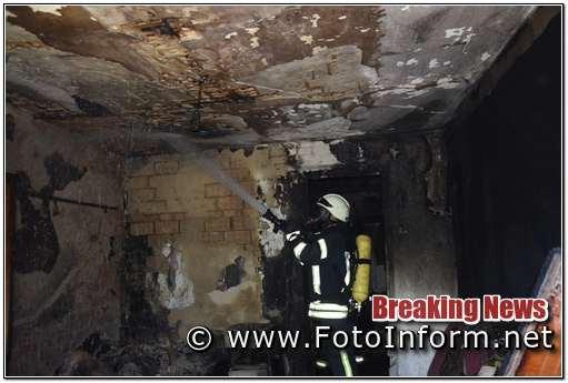 під час гасіння пожежі виявлено тіло чоловіка