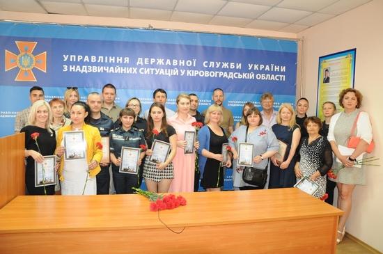 У Кропивницькому Віталій Миронюк привітав представників ЗМІ