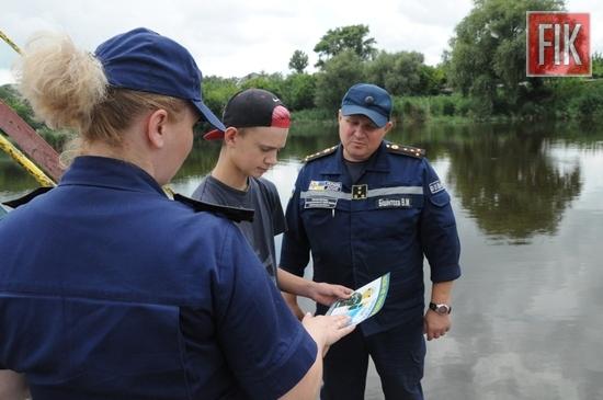 на березі річки Мала Вись провели роз'яснювальну роботу (ФОТО)