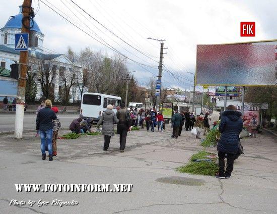 У Кропивницькому святять вербу, фото Игоря Филипенко, кировоградские новости, кропивницкий новости