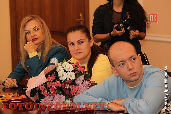 В Кропивницком наградили паралимпийцев (фоторепортаж), фото Игоря филипенко, Сергей Кузьменко
