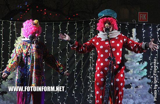 В Кропивницком засияла новогодняя красавица, Председатель Кировоградской ОГА Сергей Кузьменко, городской глава Андрей Райкович