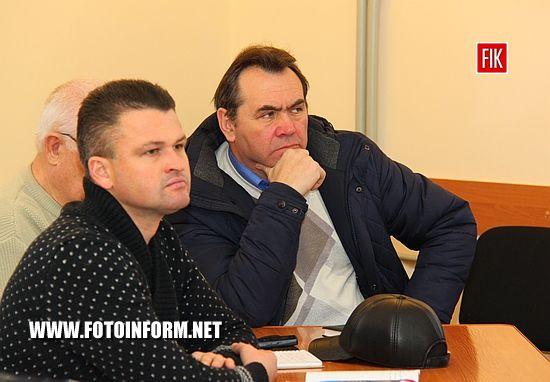 У Кропивницькому заступник міського голови Олександр Мосін