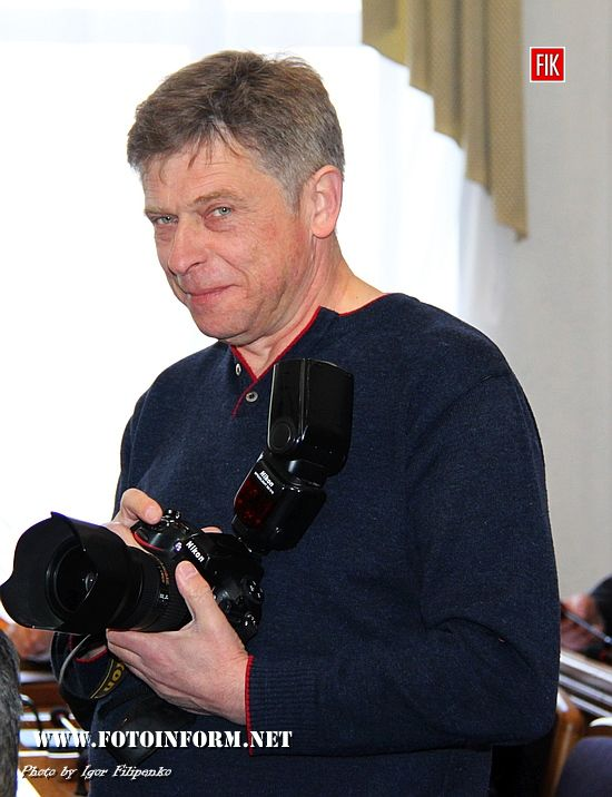 У Кропивницькому відомий журналіст отримав державну нагороду, Ігор Демчук