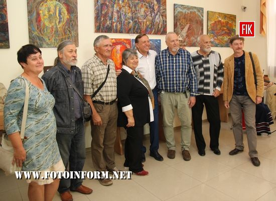 У Кропивницькому відкрили виставку творчого подружжя , Володимир Немира та Катерина Немира