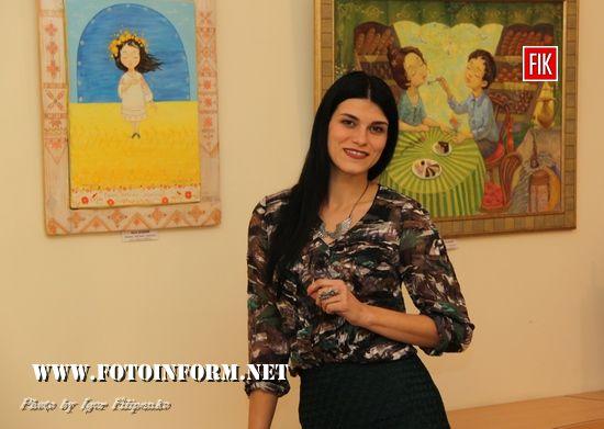 Сьогодні, 20 жовтня, у галереї «Єлисаветград» відбулося відкриття вистаки картин відмої художниці із Ізмаіла Катерини Дудник.