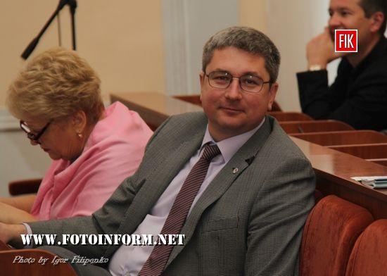 Кропивницький: дев`ята сесія міської ради у фотографіях