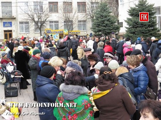 У центрі Кропивницького зібралися шанувальники млинців