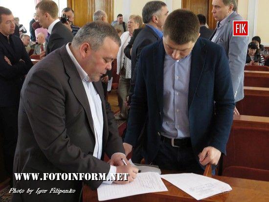 У Кропивницькому знову не відбулося засідання міської ради (ФОТО)