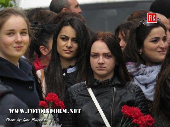 У Кропивницькому вшанували пам'ять жертв геноциду вірменського народу, Тігран Хачатрян, Андрій Бобрик