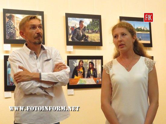 Вчора, 12 липня, в Кіровоградському обласному художньому музеї відбулося відкриття фотовиставки «Береги Сіверського Дінця»