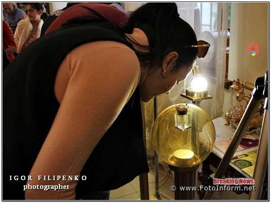 Кропивницький: відкриття виставки мікромініатюр у фотографіях фото филипенко