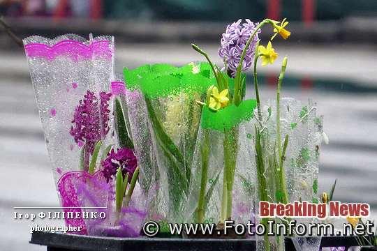 8 березня, фото игоря филипенко, Як у Кропивницькому городяни купляли весняні квіти, фоторепортаж, свято весни