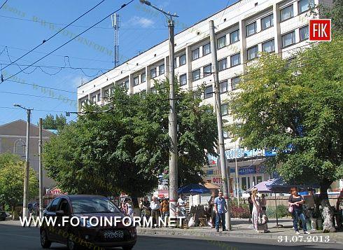Кировоград: центральную улицу расширят