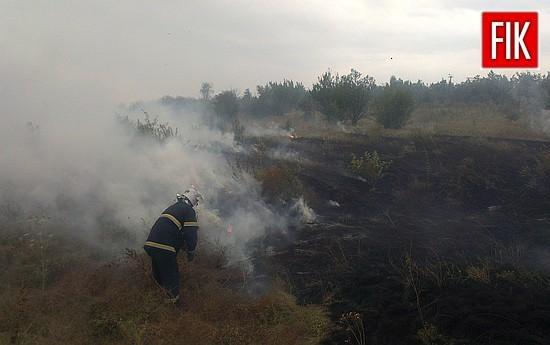 12 серпня о 14:54 до Служби порятунку «101» надійшло повідомлення про пожежу 2 га сухої трави на відкритій території у м. Бобринець.