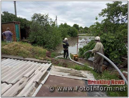 домоволодінь відкачували дощову воду