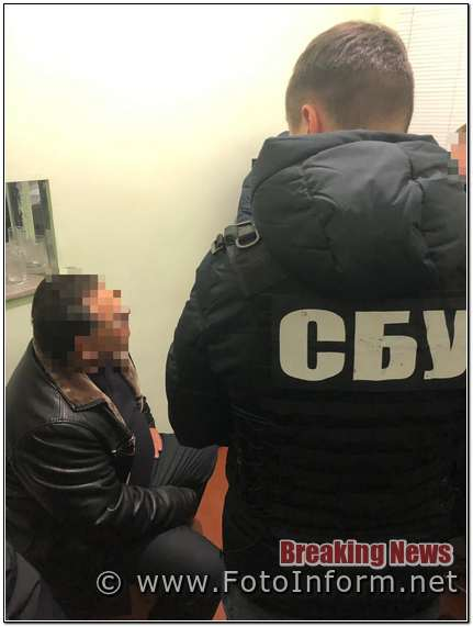Кропивницький, СБУ , хабар, державного інспектора,