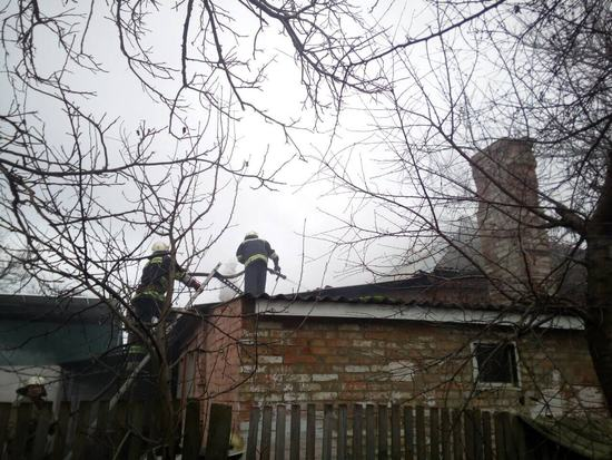 На Кіровоградщині в житловому будинку загасили пожежу (ФОТО)
