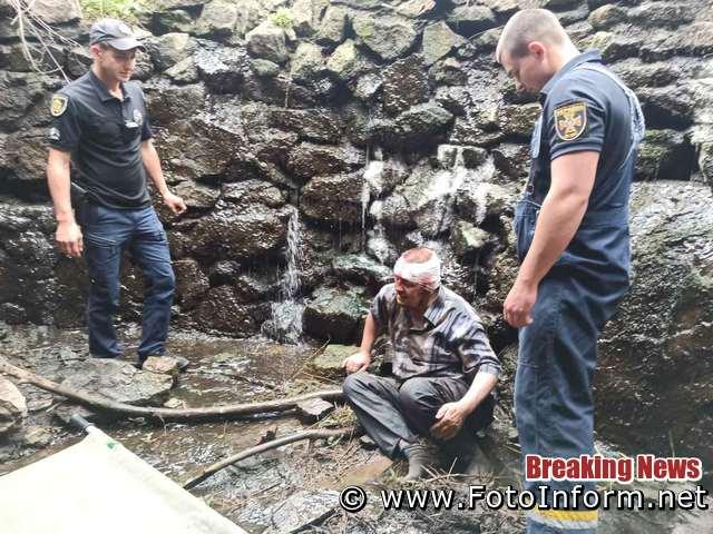 На Кіровоградщині чоловік упав з греблі