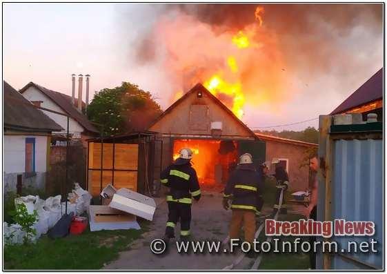 Протягом доби, що минула, пожежно-рятувальні підрозділи Кіровоградської області 6 разів залучались на гасіння пожеж у житловому секторі та на відкритих територіях.