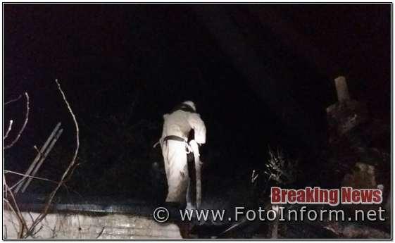 Кіровоградщині, приватному секторі, вогнеборці, подолали дві пожежі