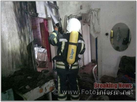На Кіровоградщині вогнеборці за добу приборкали 3 займання