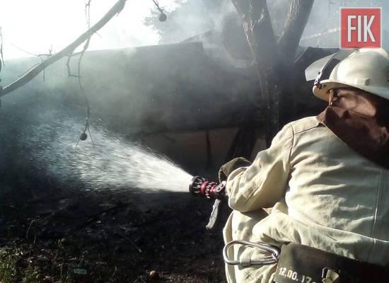 На Кіровоградщині тричі гасили пожежі в житловому секторі
