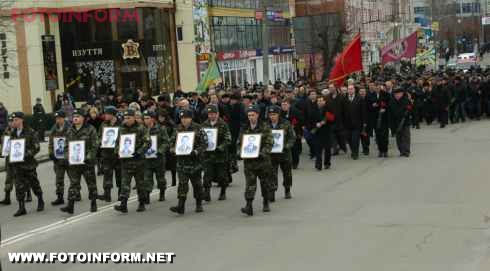 Кіровоград: авто воїнам-«афганцям» від нардепа Ігоря Шарова (фото)