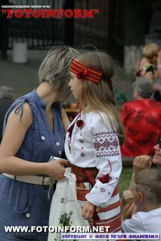В Кировограде появилась «Алея майстрів» (ФОТОРЕПОРТАЖ)