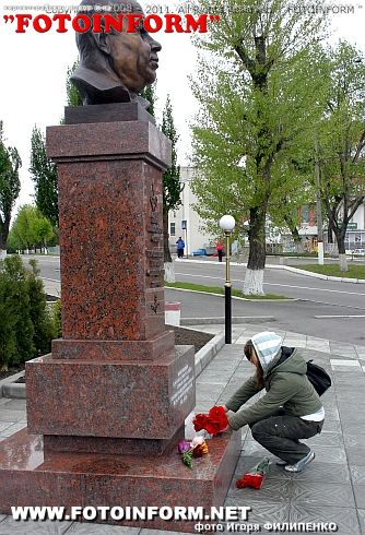 Школьники Кировограда почтили Героев войны (фото) Игоря Филипенко
