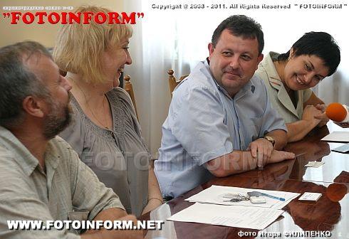 Встреча в горсовете (фото)
