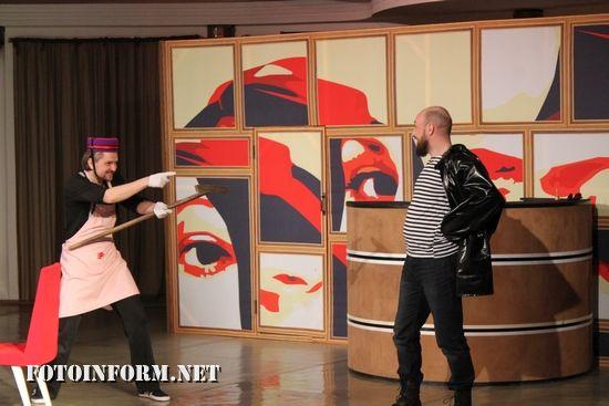 Кумедну історію про серйозні речі продемонстрували у Артистичній вітальні Київського муніципального академічного театру опери і балету для дітей та юнацтва.