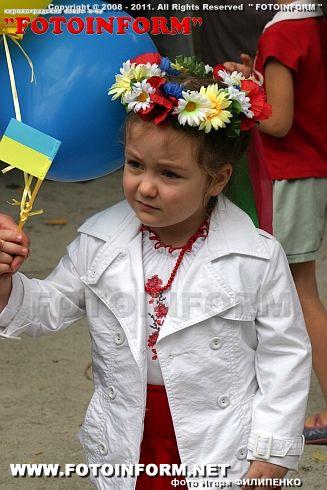 В Кировограде открыли новую детскую площадку на деньги, выигранные в телепроекте «Майданс» фоторепортаж Игоря Филипенко