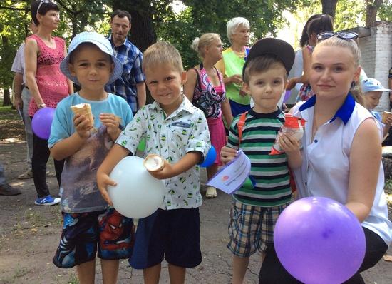 6 серпня ЮніорБанк ПриватБанку святкував разом із знам'янчанами 148 день народження міста залізничників.