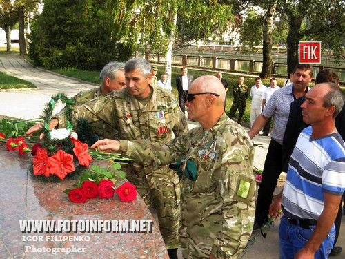 Сегодня, 25 сентября, кировоградские воины-интернационалисты отметили 25-ю годовщину со дня основания Украинского союза ветеранов Афганистана, а также 20-летие Кировоградской областной организации УСВА.