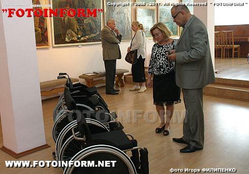 В Кировоградском областном художественном музее прошла благотворительная акция (ФОТО)