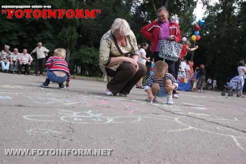 В Ковалевском парке было многолюдно (ФОТО)