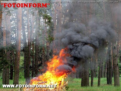 Лесным пожарам - совместное противостояние (ФОТО)