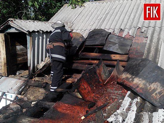 13 серпняо 16:13 до Служби порятунку «101» надійшло повідомлення про пожежу у с.Кіровка Маловисківського району.